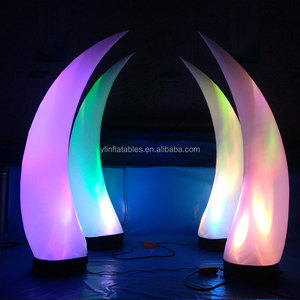 hot selling led inflatable flower/inflatable led lighting star/inflatable arch with LED lighting for wedding/party/event/club