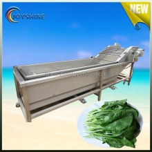 Low price air bubble vegetable washing machine for industrial production line