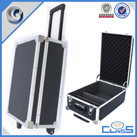 MLD-950 black with wheels aluminum luggage box