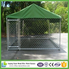 Best selling products galvanized eco-friendly chain link fence dog kennel