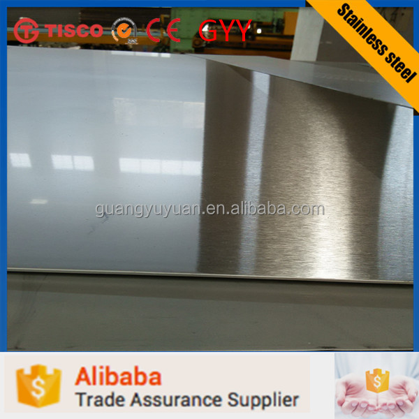 TISCO5mm thickness stainless steel 201 202 304 304l 316 sheet