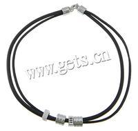2015 fashion leather cord pendants necklace