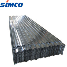 Good quality 24 gauge 2mm corrugated galvanized steel sheet with price