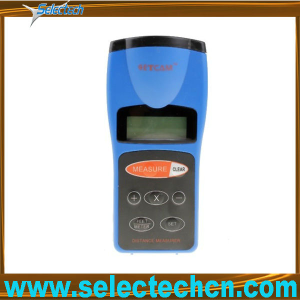Ultrasonic distance tester with laser point aiming SE-CP3008