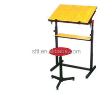 Hot Sale cheap price Professional Manufacturer folding school chair desk
