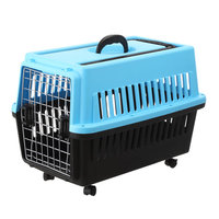 airline approved comfortable soft plastic dog airline carrier