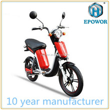 18inch lithium scooter ebike electric bicycle LED headlight with pedal 350W 48V electric scooter for HC-EB27 Knight 350