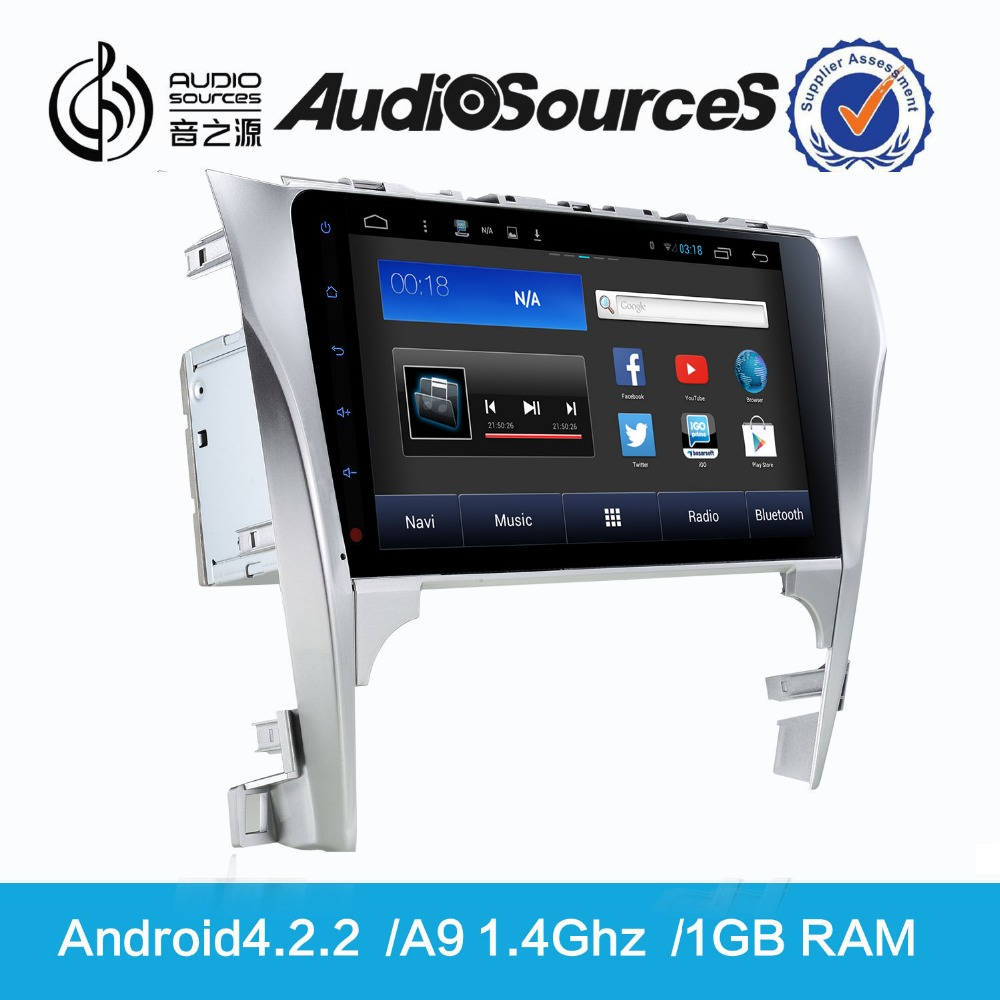 10.2 inch capacitive touch screen car android dvd gps for mitsubishi asx Toyota Camry with wifi 3g gps navigation system