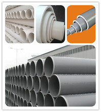 Supply Building Material Rigid PVC Drainage Pipes 200mm