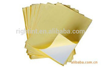 Shanghai manufacturer pvc photo album self-adhesive sheets
