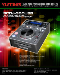 SCDJ-350 USB Professional single DJ CD/ USB/SD card / MP3 PLAYER