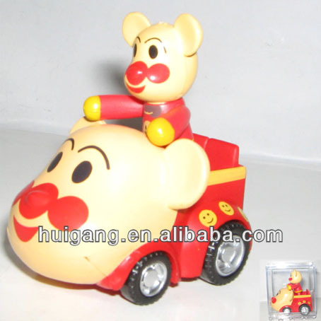 home decoration, pvc toy car bear, kids party supplies in china