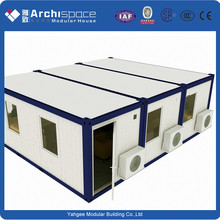 collapsible cabins with prefabricated house
