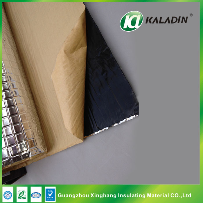 butyl rubber pad auto sound deadening material for cars