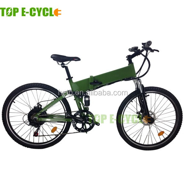 TOP CE approval 20inch 250w folding electric mountain bike