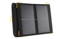 High Efficiency Dual Port Solar Panel Phone Charger with Foldable Solar Pack for Outdoor Climbing Camping