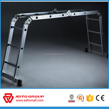 EN131 multi-purpose aluminum ladder, multi function ladder, industrial ladder