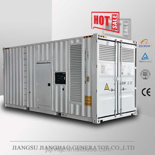 Containerized silent generator with Cummins engine,800kw generator 1000kva generator