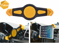 Rohs approved universal silicone protection ipad holder for car,tab holders, pc tablet stand