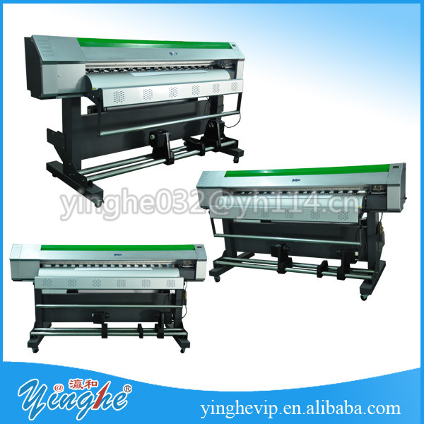 good design high speed dual heads flex board printing machine
