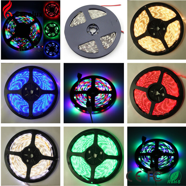 5M 300 LEDs 3528 SMD BLUE colour Flexible LED Strip Light 12v rgb led strip accessory
