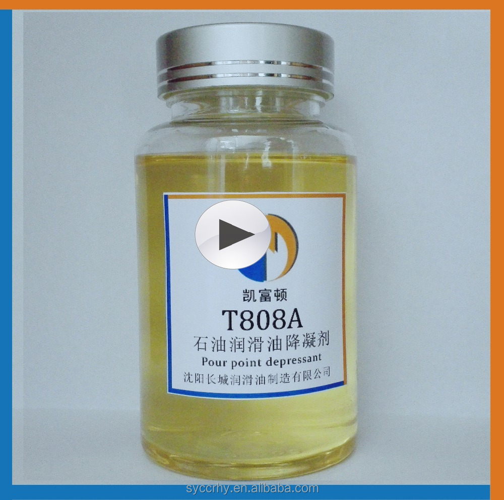 T808A Paraffin base oil additive pour point depressan lubricant additives