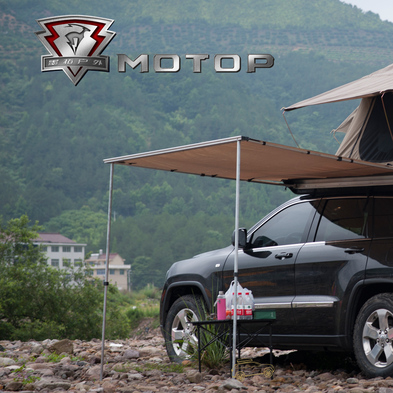 Camping parts car roof top tent with extension