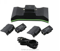 HOT iPega Series Dual Charging Dock Charger Station with 2 x Rechargeable Battery (700 mah) for XBOX One (PG-X001)