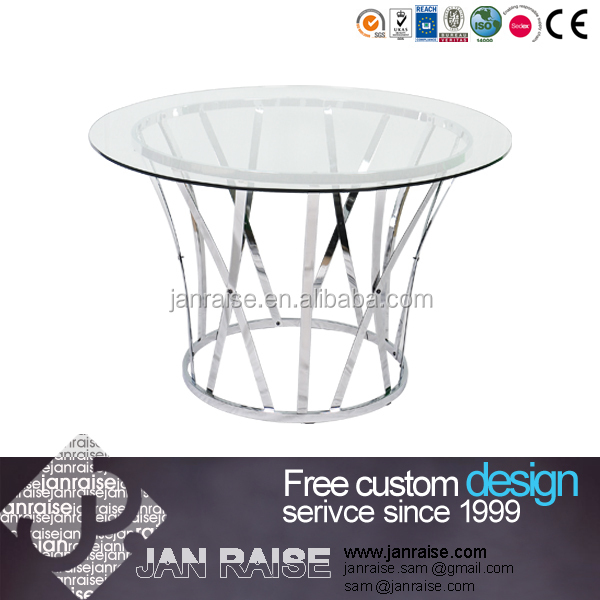 Wholesale Products Octagonal Glass Dining Table