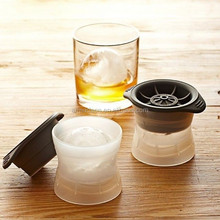 BPA free ice ball maker silicone Tovolo sphere ice molds