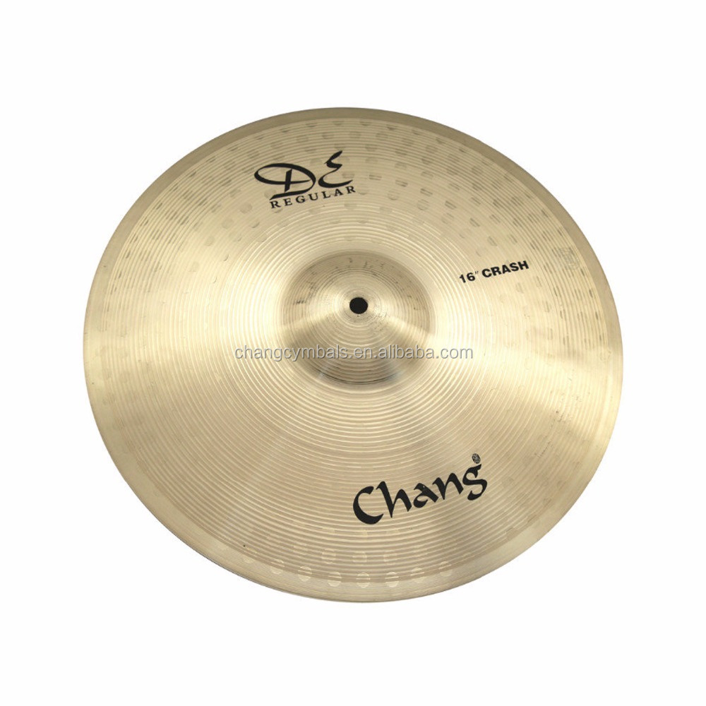 Hot Sale Cymbals Chang B20 DE Regular Series For Professional Drum Set