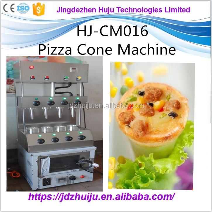 Pizza cone moulding production machine line/ pizza cone maker equipment/ pizza cone making machine for sale