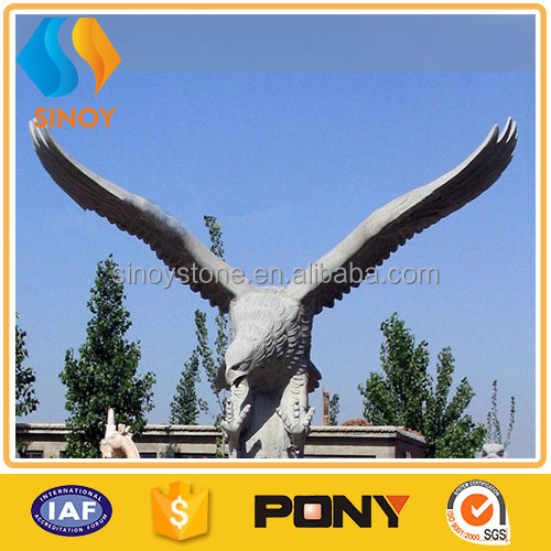 eagle granite carving stone