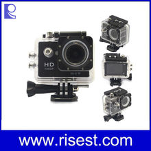 China Factory Top Rated 30M Action Camera Accessories Waterproof,W9 Sport DV,2 inch WIFI Sport Diving DV Camcorder