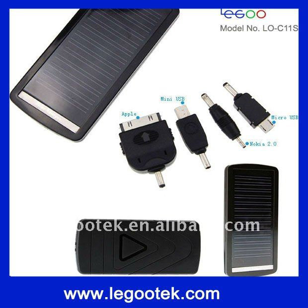2011 solar power pack charger