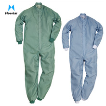 Unisex Cleanroom Clothing ESD Coveralls