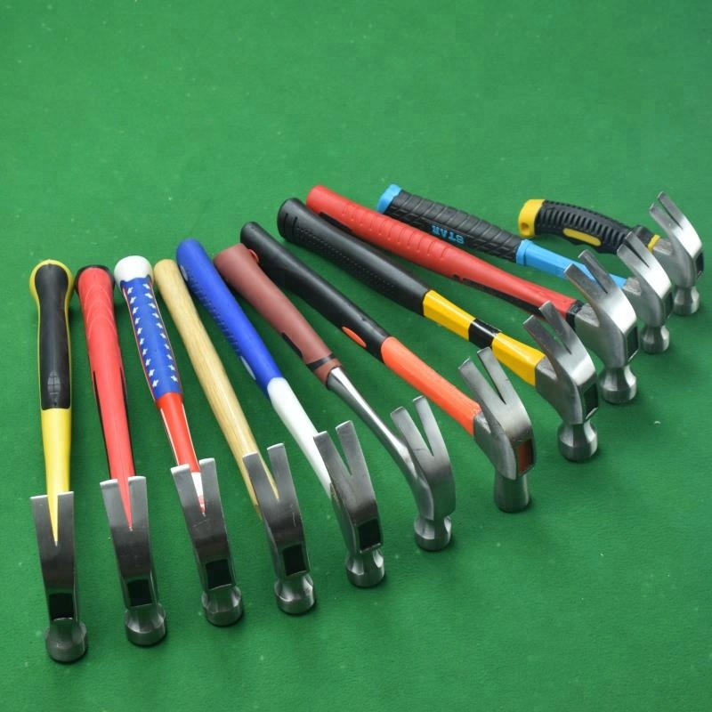 Popular polishing surface claw hammer /types of claw hammer