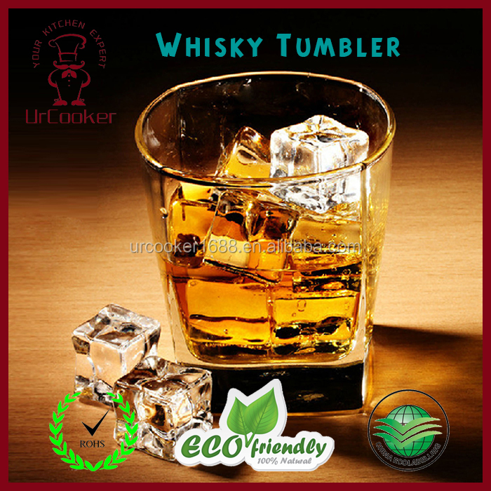Personalized hot sell whisky glass/whiskey tumbler
