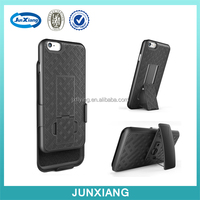 Slim Hard Shell Case Holster Combo with Kickstand Belt Swivel Clip for iphone 6