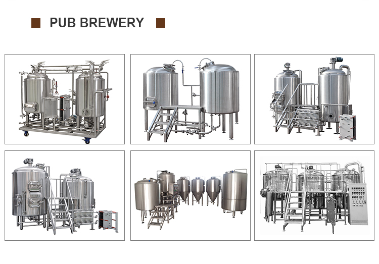 3BBL 5BBL herms brewery machine for pub ale beer 5 barrel brewing system cost