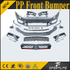 PP Car Front Bumper for VW POLO GTI R bumper 2011-2015