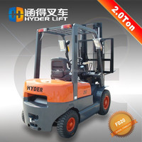 promotion 2T forklift of diesel power with india motor parts dealer support
