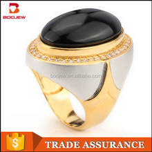 black agate stone men ring made of original silver pakistan artificial jewelry