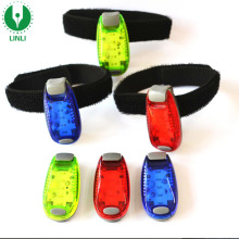 5pcs Super Brightness Led Safety Clip Running Light For Night Runner