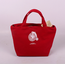 zakka the cotton and linen made and multifunctional and portable lady bag with zipper shop bag