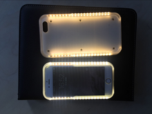 2016 the latest products LED flashing mobile phone case lights up face case for iphone 6/6 plus flash light case cover