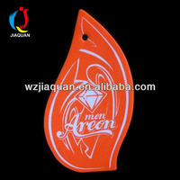 Promotional scented card Car Air Fresheners paper card