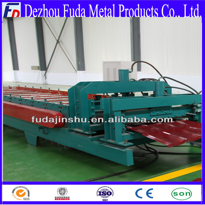 roof tile making machine, working line