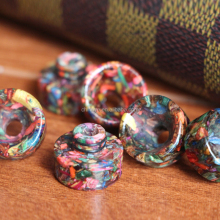 Stabilized Wood Drip Tip Resin+Stabilized Wood Hybrid 510 Drip Tip Ecig Original Epoxy Resin Drip Tips