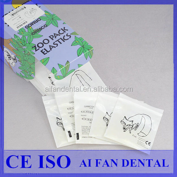 [ AiFan Dental ] Hot Sale USA ORMCO rubber bands orthodontic elastic product